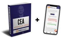 Combo CEA Grátis   Apostila digital + App c/ Simulados